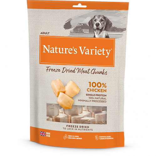 Nature's Variety: Freeze Dried Chicken Chunks 200g