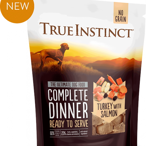 True Instinct: 'Freeze Dried Complete Dinners'