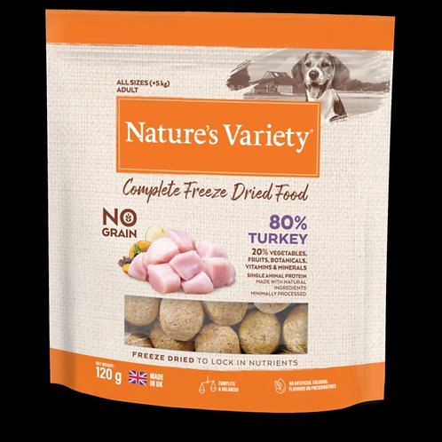 Nature's Varety: Complete Freeze Dried Food
