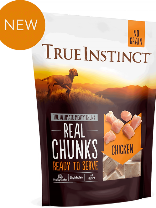 True Instinct: Freeze Dried Chicken Chunks 200g