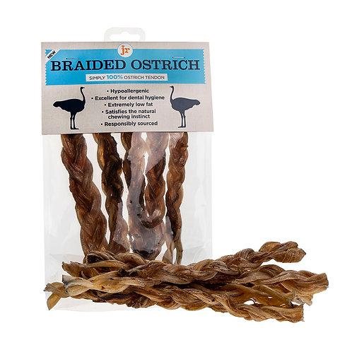 JR Pet Products: Ostrich Braids 5pk