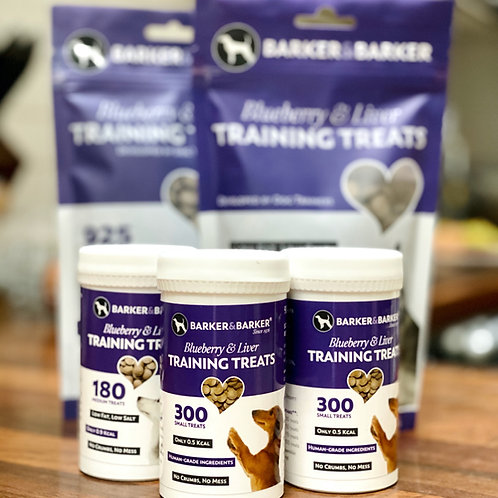 Barker and Barker: Liver & Blueberry Treats