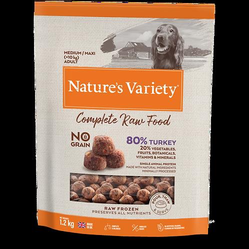 Nature's Variety: Turkey Raw Bites 1.2kg