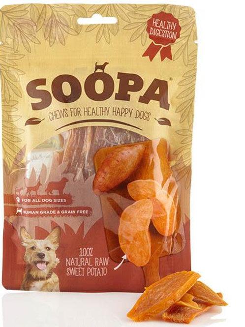 SOOPA: 100% Dried Raw Sweet Potato Treats