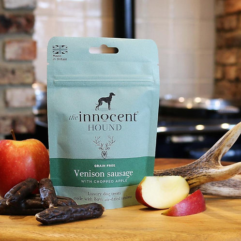 The Innocent Hound - Venison Sausage with Chopped Apple 70g