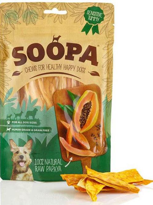 SOOPA: 100% Dried Raw Papaya Treats