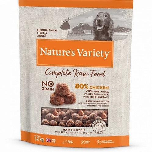 Nature's Variety: Free Range Chicken Raw Bites 1.2kg