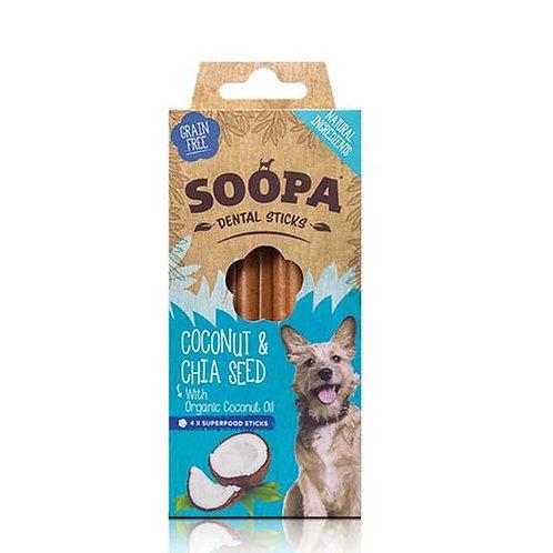 SOOPA: Dental Sticks - Coconut & Chia Seed