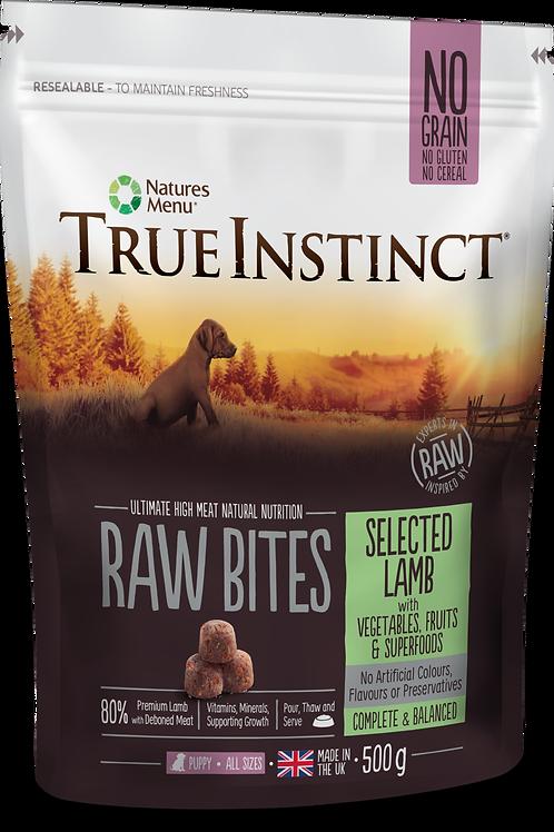 True Instinct: Lamb Puppy Raw Bites - 500g