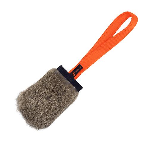 Tug-E-Nuff: Rabbit Skin Pocket Squeaker