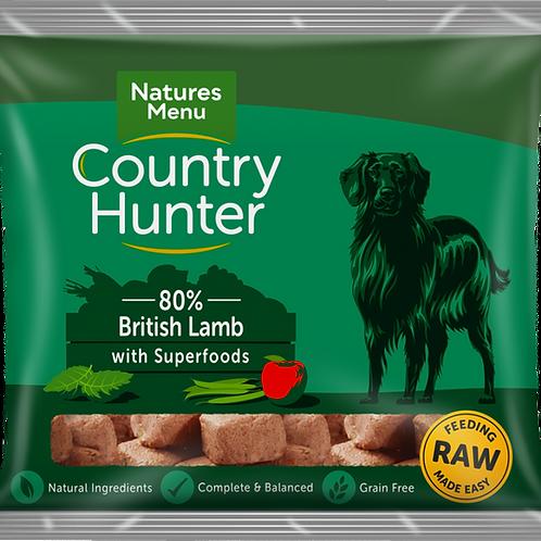Natures Menu: Raw Country Hunter Superfood Nuggets 1kg - Lamb