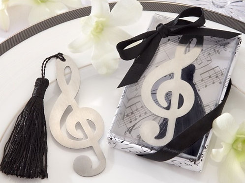 Bookmark - Metal Trebleclef Music Note