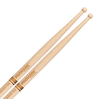 Promark Hickory Concert Two Snare Drum Stick - TXC2W