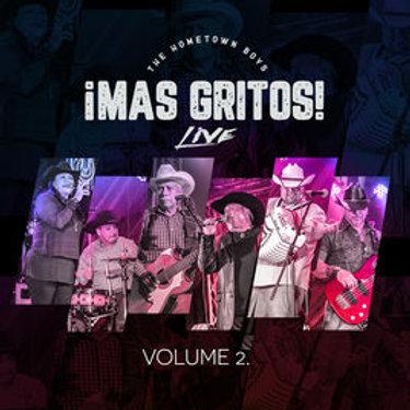 The Hometown Boys - Mas Gritos! Vol. 2 LIVE