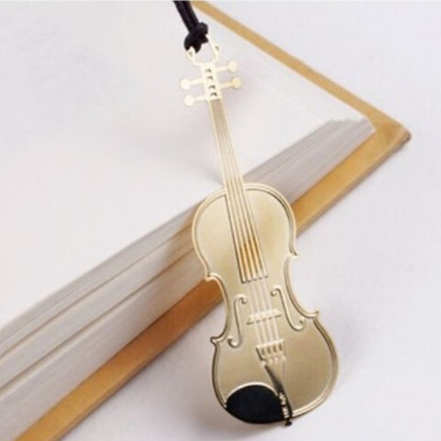 Violin Bookmark