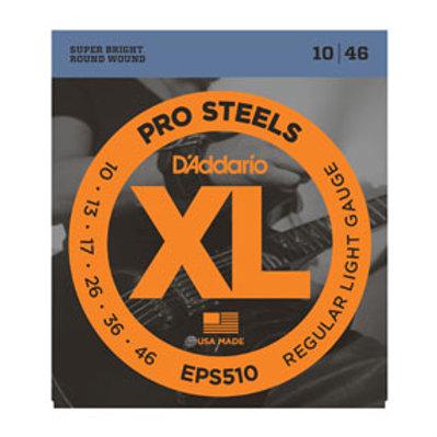 D'Addario EPS510 ProSteels, Regular Light, 10-46