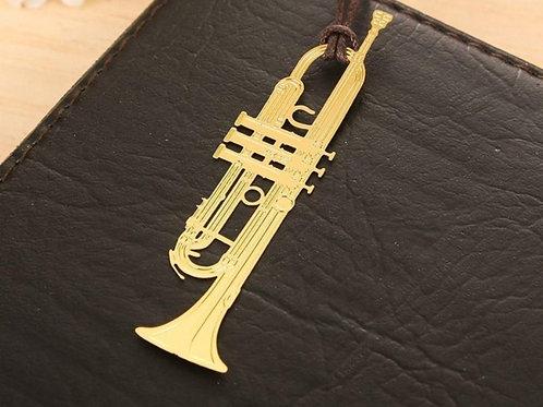Trumpet Bookmark