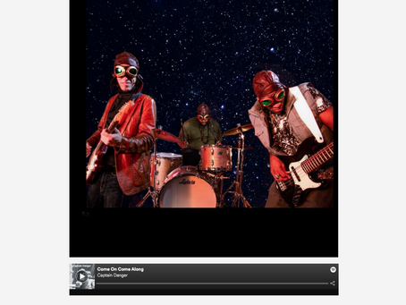 """Captain Danger """"One of the most promising acts this year"""" (Music N Gear)"""