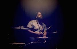 Joose on drums