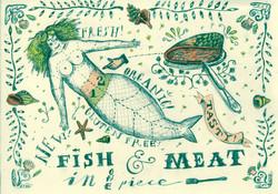 mermaid to eat