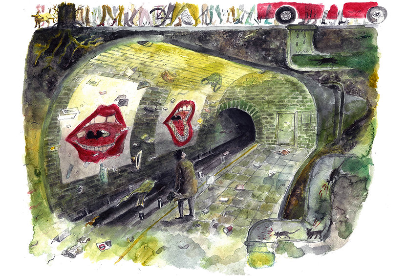 underground, scream, adds
