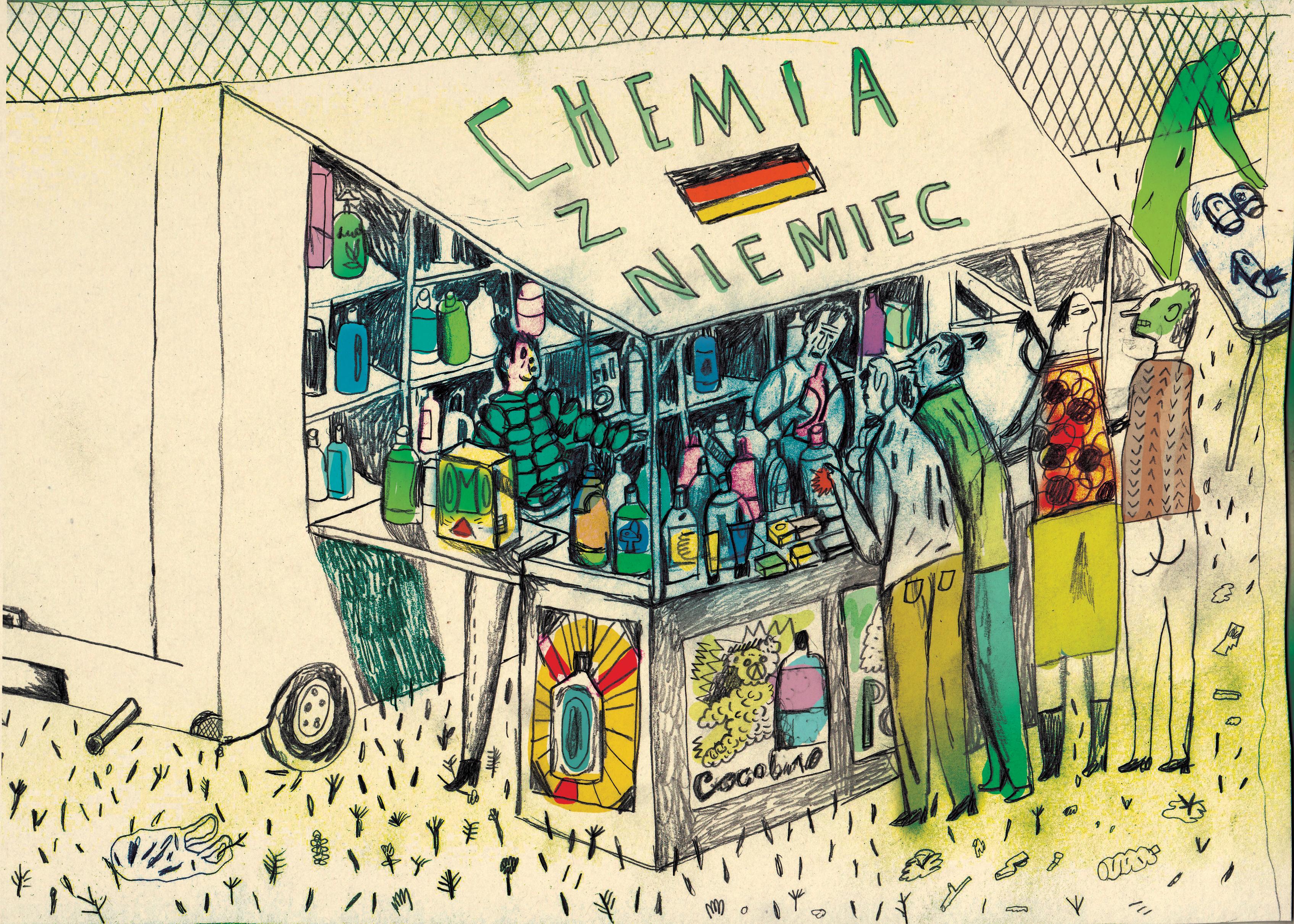 chemia z niemiec