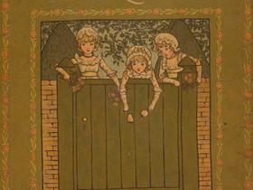 """Livros Infantis Antigos (1846): """"Marigold Garden"""", de Kate Greenaway"""