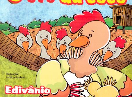 """Dica de Livro Infantil: """"O Ovo da Cocó"""", de Edivânio Honorato"""