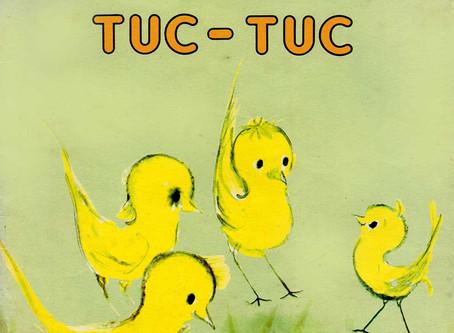 """Livro Infantil Antigo (1984): """"Tuc-tuc"""", de Paula Saldanha"""