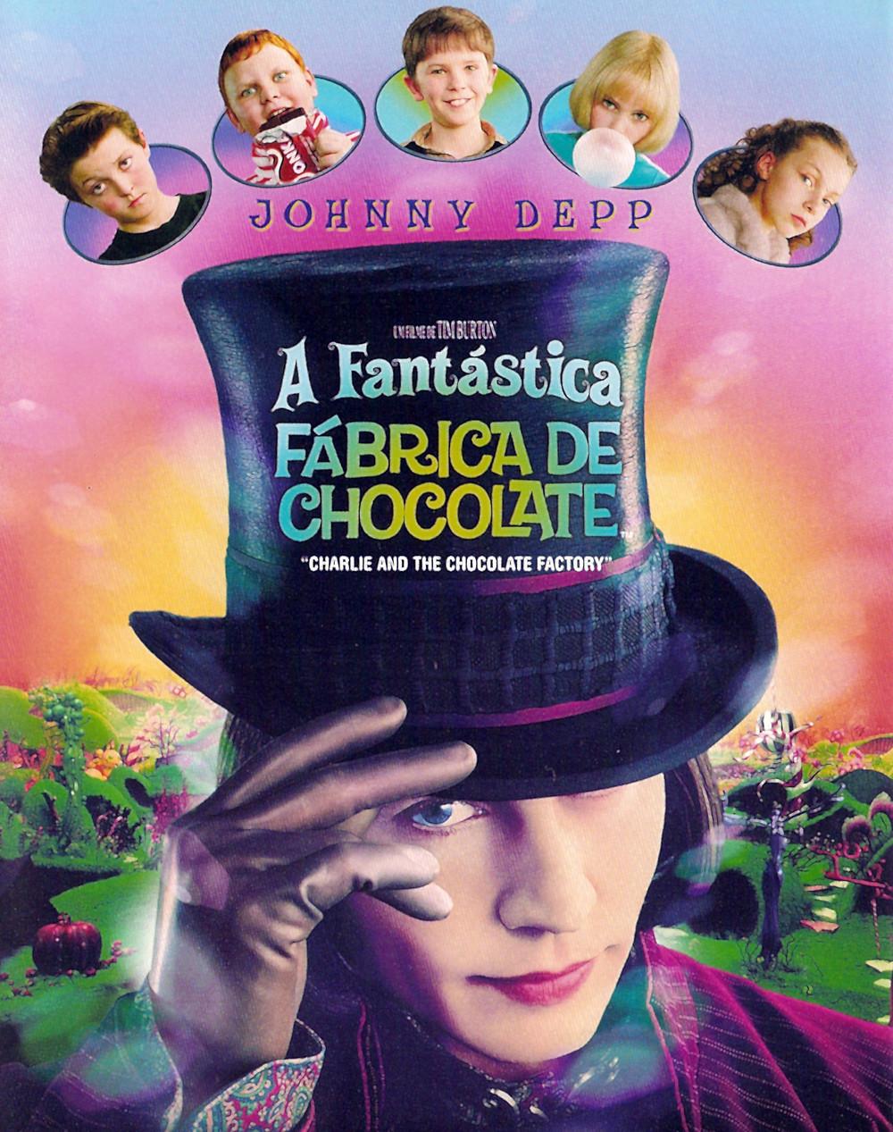 Poster novo filme A Fantástica Fábrica de Chocolate