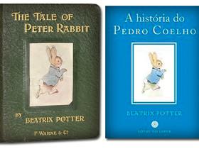 """Livros Infantis Antigos (1902): """"A História do Pedro Coelho"""", de Beatrix Potter"""