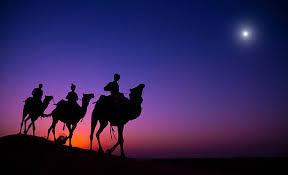 3 wise men silhouette