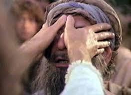 Blind healed