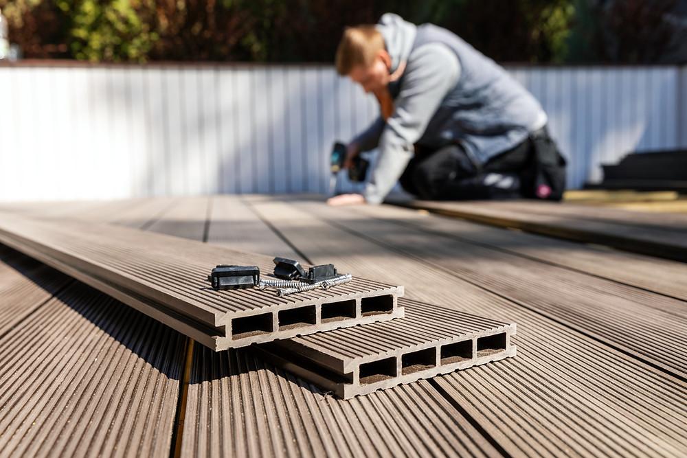 composite decking fitters installers builders in leeds rodley farsley pudsey calverley horsforth cookridge yeadon guiseley bramhope kirkstall headingley ilkley otley