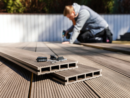 James looks at - Timber Decking or Composite Decking