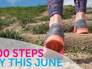 'Walk all over cancer 10,000 steps challenge'