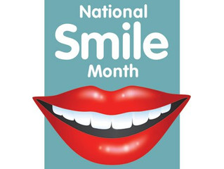 Its National Smile Month!