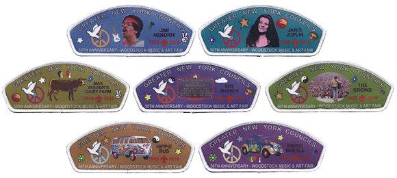 TMR & Woodstock Concert 50th Anniv. CSP Set - White Border