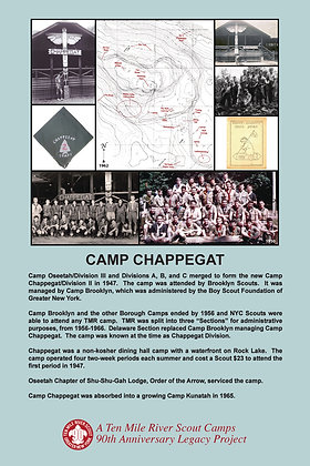 Camp Chappegat Historic Site Sign