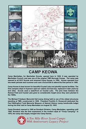 Camp Keowa Historic Site Sign