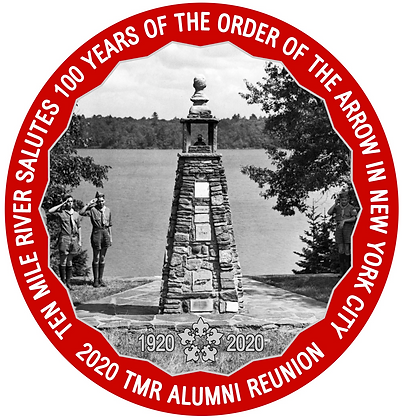Limited Edition 4 in.  Alumni Reunion Tower of Friendship Patch