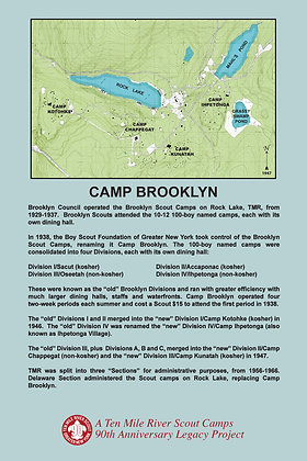 Camp Brooklyn Historic Site SIgn