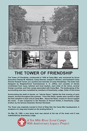 Tower of Friendship Historic Site Sign