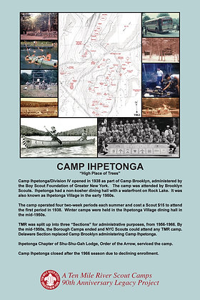 Camp Ihpetonga Historic Site Sign
