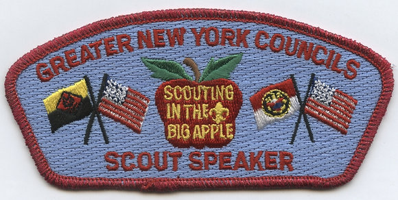 GNYC Scout Speaker CSP