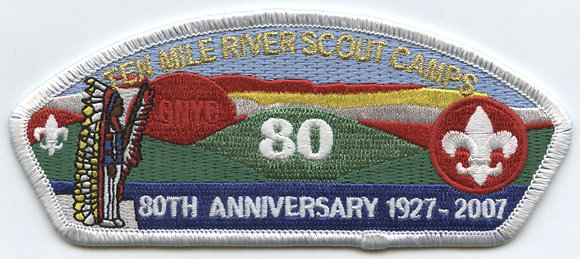 Ten Mile River Scout Camps 80th Anniv. CSP - 2007