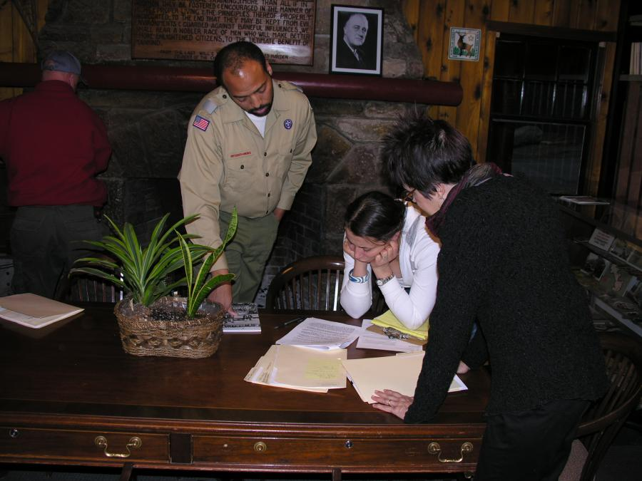 12-Reviewing the Script with Producer Jill Roussell