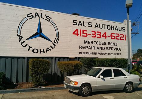 Sals Auto Haus Home San Francisco Mercedes Benz Service - Mercedes benz service san francisco