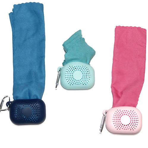 SQUICKEE Quick Absorbing Travel Towel made of recycled materials, quick dry