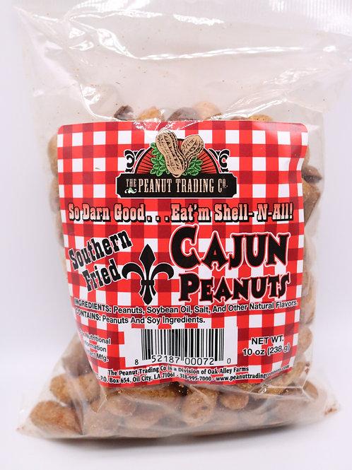 Deep Fried Cajun Peanuts